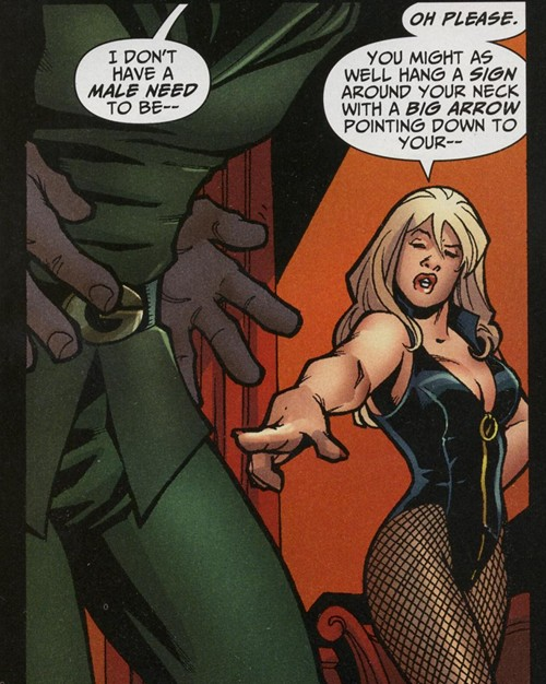The Green Arrow Black Canary Wedding Special hit the stores yesterday