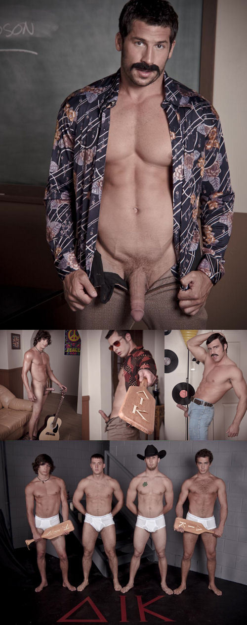 The first part of That 70s Gay Porn Movie is now available on Randy Blue.