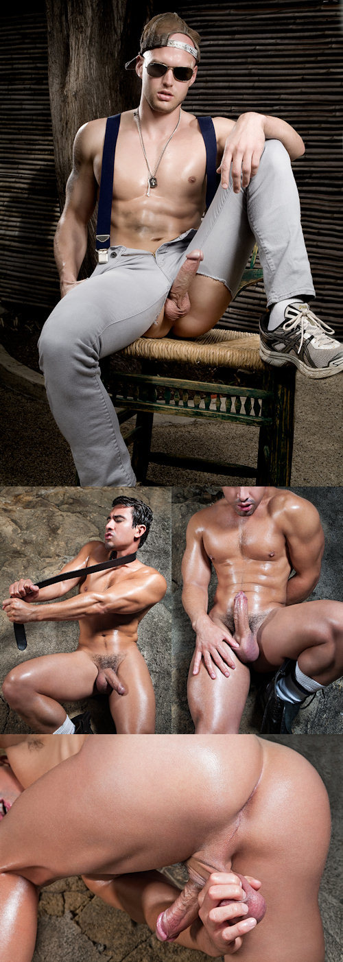 Gay xxx as chad bent over the mitt rest of 9